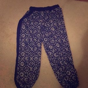 Other - Patterned sweat pants